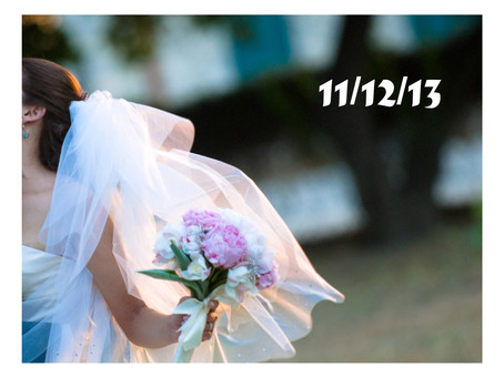 11.12.13, a Very Special Day to Marry...