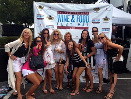 A Wine & Food Festival is a great date idea!