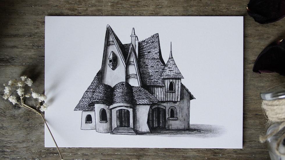 Carte Maison Fantasmagorique