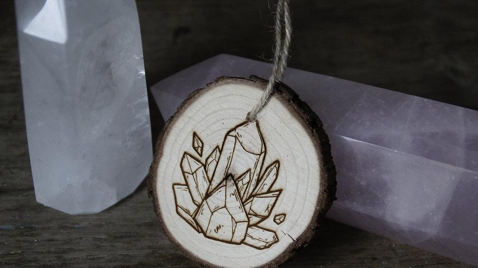 Amulette Cristaux