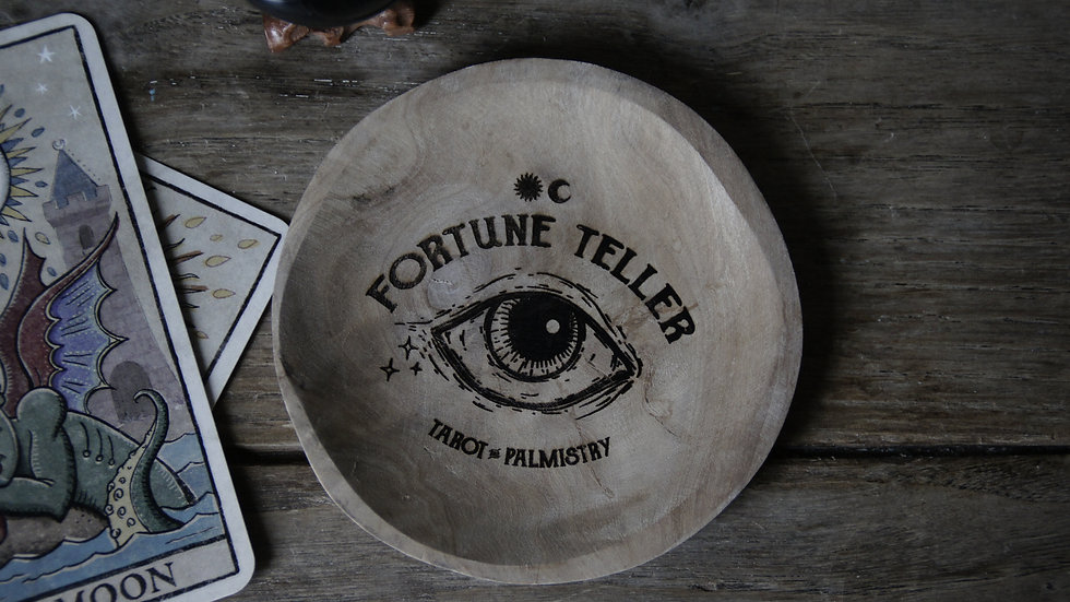 Coupelle en bois Fortune Teller