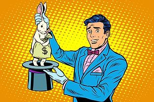 Cartoon rabbit money hat-108580540.jpeg