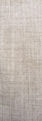 Traditional Genuine Soft Plain Thick Highland Wool Upholstery Fabric Natural