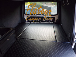 VW T5 Full width Folding Bed