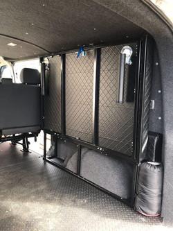 VW T5 LWB Extendy Flatout bed