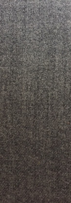 Traditional Genuine Soft Plain Thick Highland Wool Upholstery Fabric Charcoal Grey