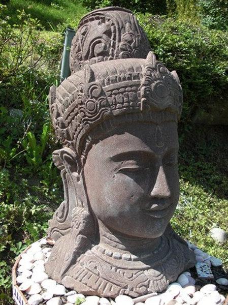 Shiva en pierre de lave