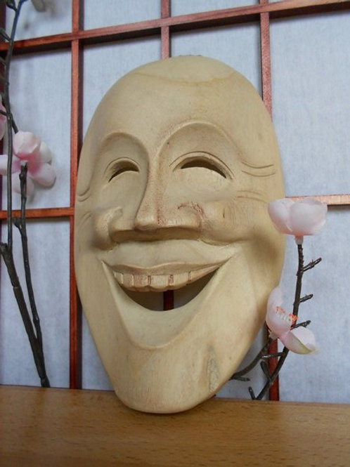 copie de Masque Yunami (Masque de théâtre balinais)