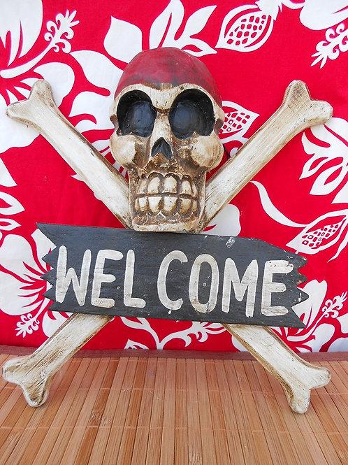 Tête de mort Welcome