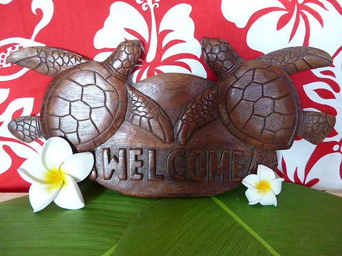 Tortue décoration murale Welcome