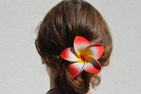 Grande fleur de frangipanier (Barette)