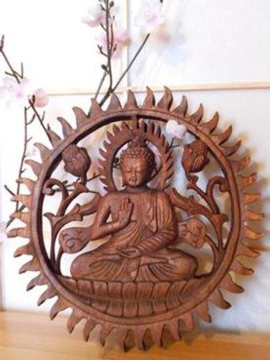 Bouddha dans le cercle de la vie