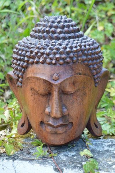 Visage du Bouddha 25cm