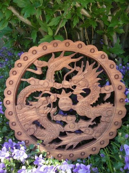 Dragons décoration murale