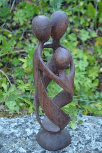 Sculpture zen - La famille