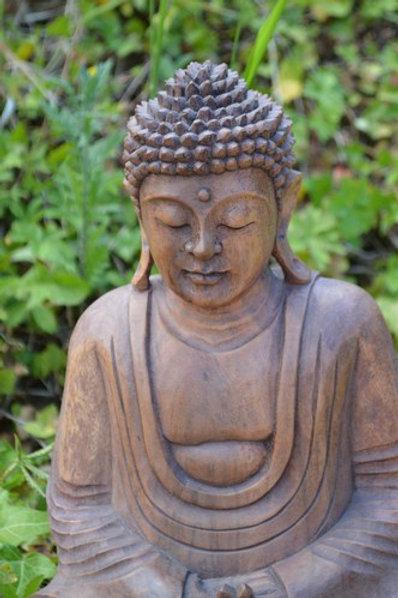 Sculpture Bouddha méditation 30cm