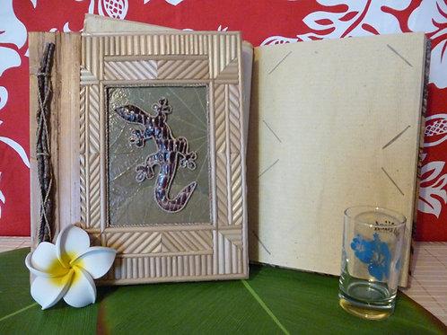 "Album photo naturel ""Gecko Bamboo"""