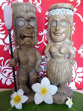 Statues Tiki