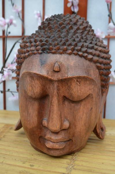 Tête Bouddha 25cm