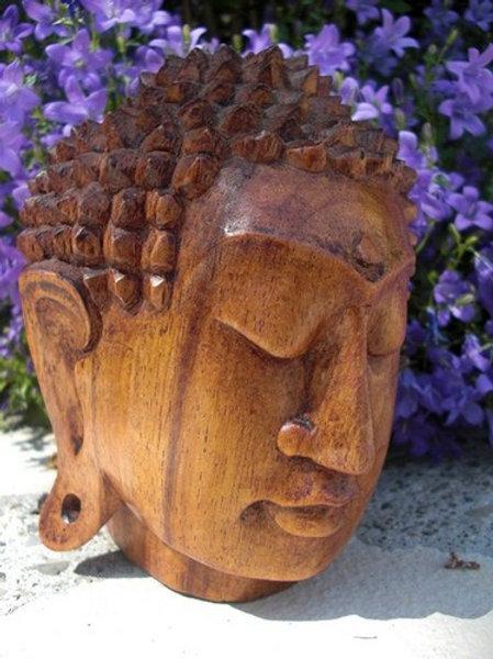 Visage du Bouddha 15cm