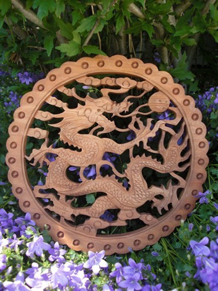 Dragon décoration murale