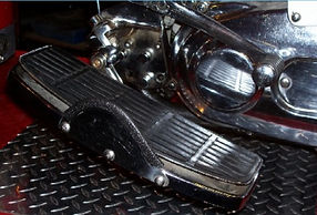 Foot Securing System For Motorcycles