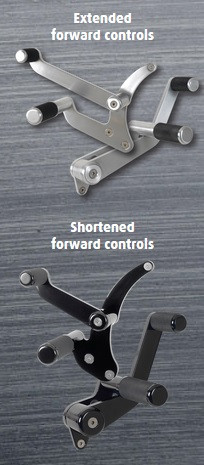 Extended Or Shortened Forward Controls