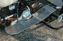 Motorcycle Extra Wide Floorboard Panels