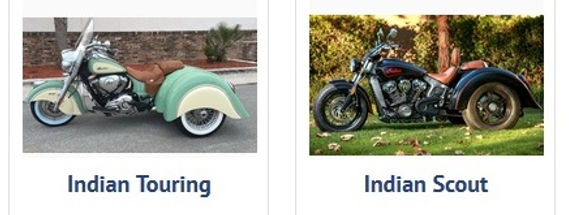 Champion Indian Trike Kits