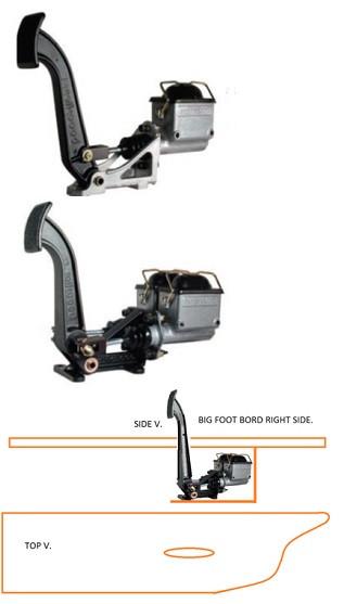 Motorcycle Floorboard Foot Controls