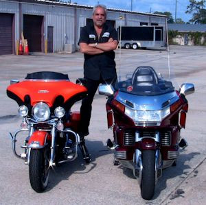 LegUp LandinGear Automatic Motorcycle Kickstands
