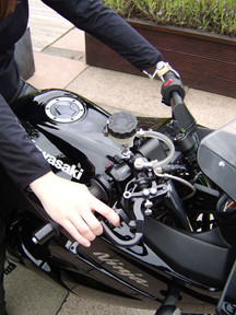 Disabled Rider Motorcycle Hand Controls