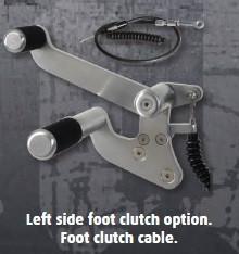 Left Side Foot Clutch Contols
