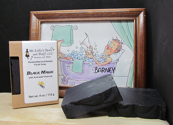 Black MAGIC - Activated Charcoal Soap