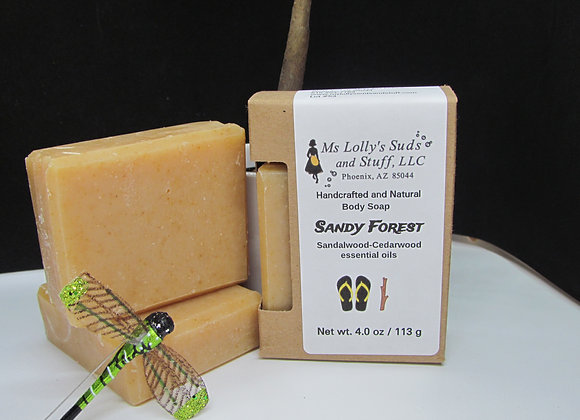Sandy Forest Soap
