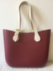 Cartera Wine Red & Black