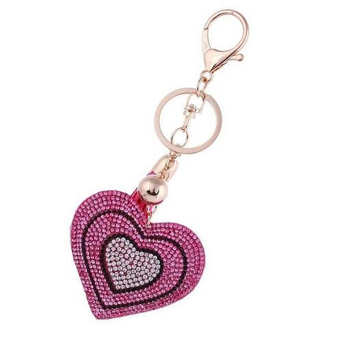 Llavero Corazón - Pink