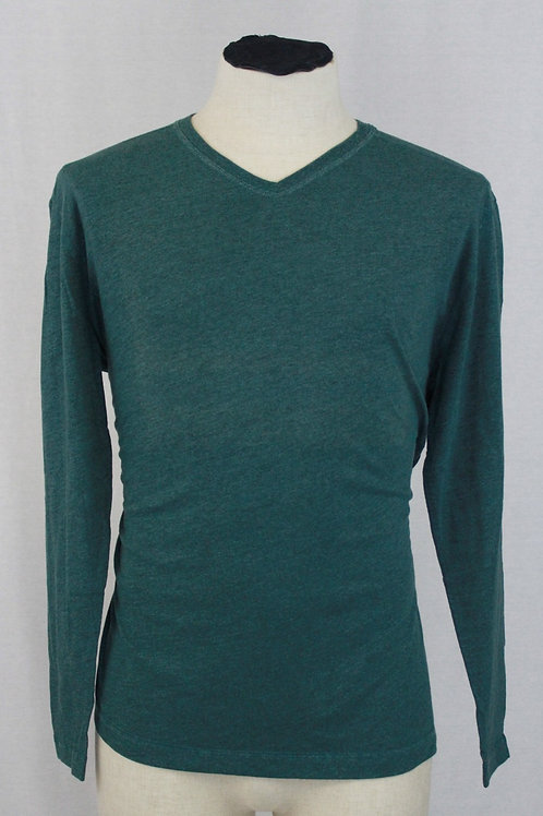 Agave Turquoise V-Neck Pullover Large