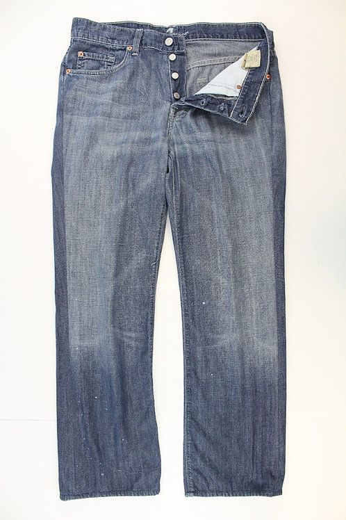 7 For All Mankind Denim Relaxed Fit Button Fly 32 x 30