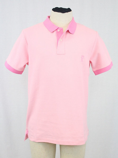 Vicomte A. Pink 2 Button Pullover Large