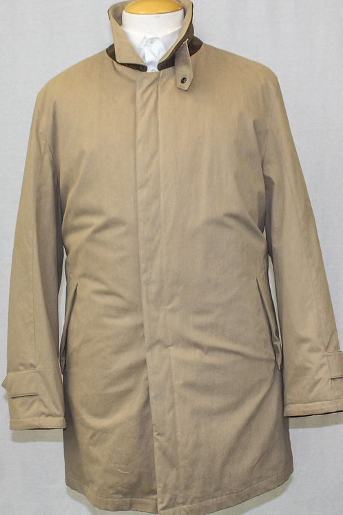 Schneiders Tan Canvas, Zip Front Outerwear XL