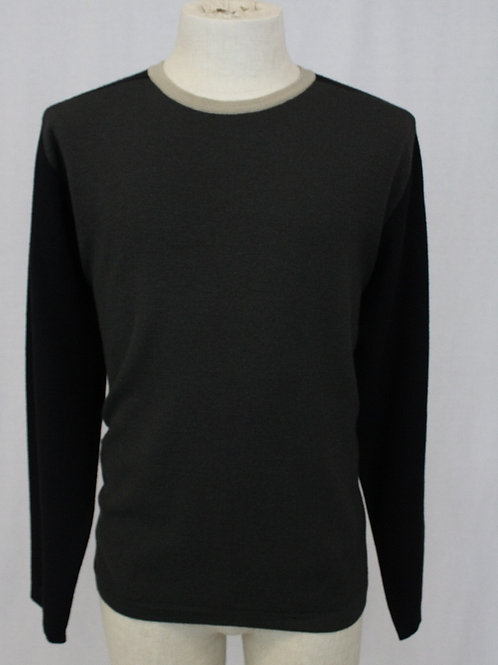 Hugo Boss Moss Green Long Sleeve Sweater w/Crew Neck XL