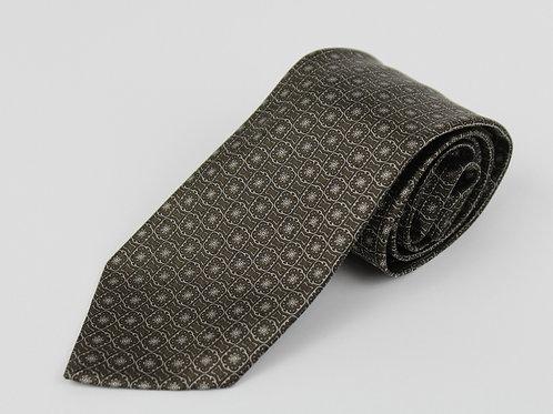 Stefano Ricci Chocolate 100% Silk, Skinny Tie