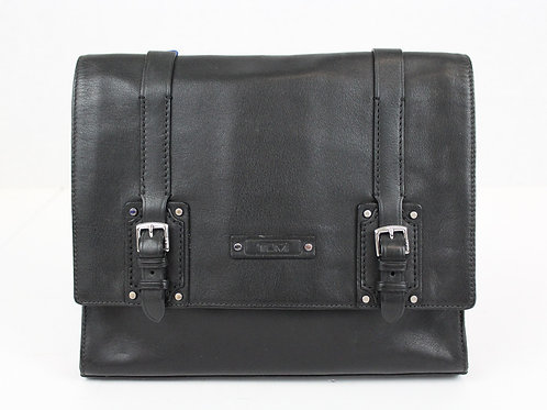 Tumi Black Leather Netbook Bag