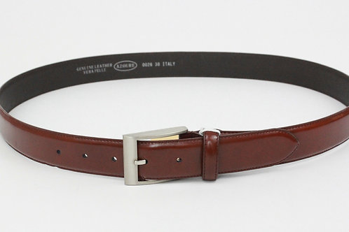 Azoure Coffee Leather Belt