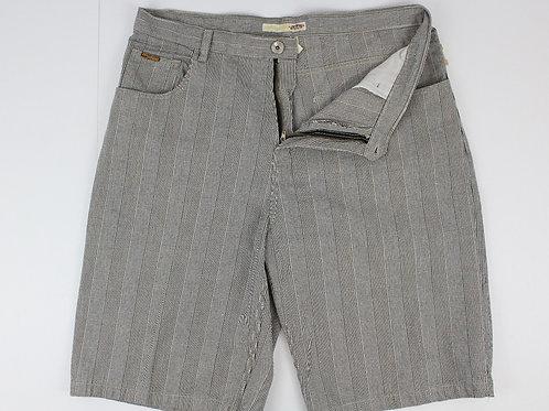 Brooklyn Cloth Grey Glen Plaid Shorts 40