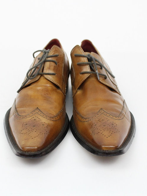 Aldo Cognac Oxford Wingtip 10