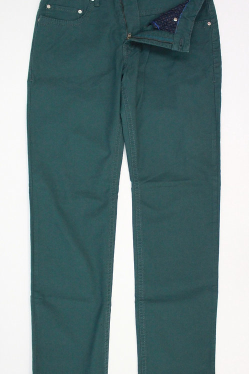 Marc Jeans Green Chino Flat Front 33 x 34