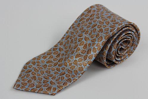 Italo Ferrelli 100% Silk w/Leaf Theme