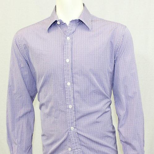 Ralph Lauren Lavender w/Plaid Weave 16.5 x 33
